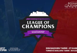 Gaziantep LoL Solo Q Turnuvası Başvuruları Başladı