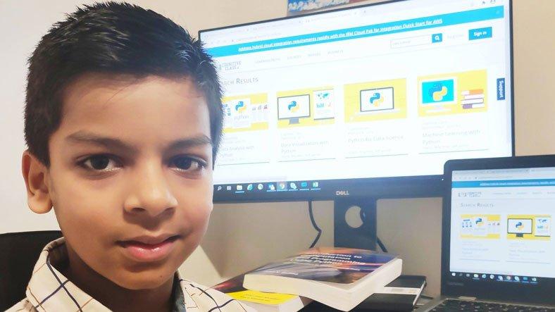 6 Yaşındayken IBM'in Yazılım Kurslarını Tamamlayarak Guinness Rekorlar Kitabı'na Giren Çocuk
