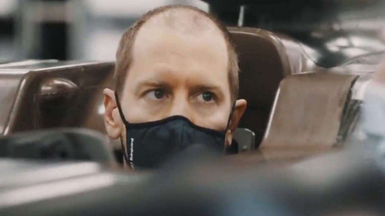 Aston Martin Sebastian Vettel