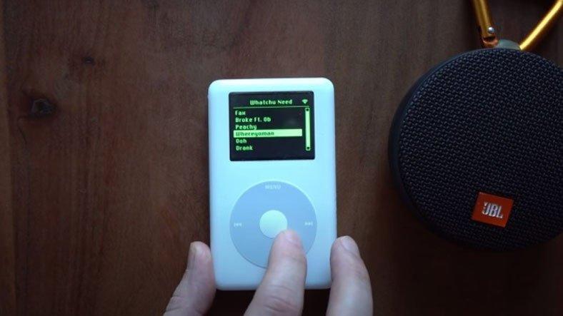 Bir YouTuber, 2004 Model iPod'da Spotify Çalıştırdı: Siz de Yapabilirsiniz