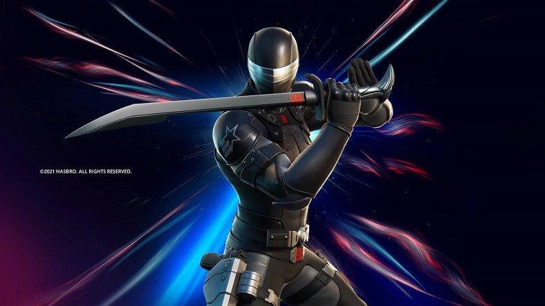 Fortnite'a İkonik G.I. Joe Karakteri Snake Eyes'ın Kostümü Geldi