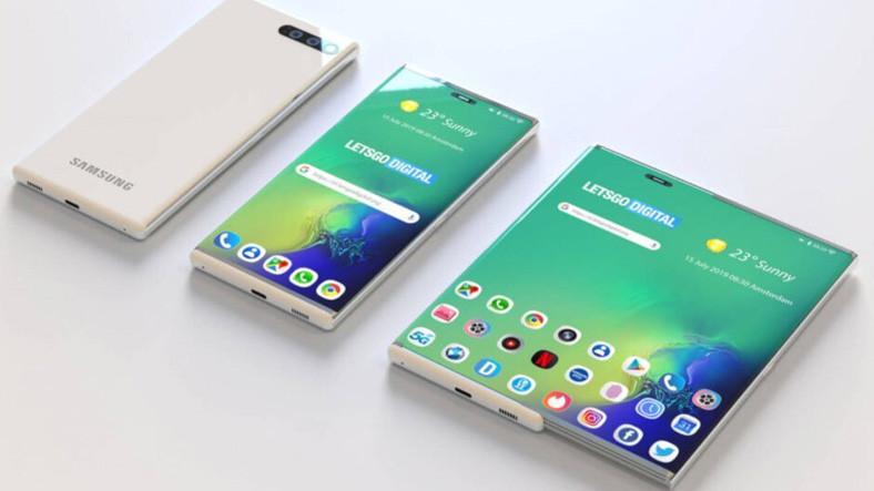 Samsung, Bükülebilir ve Kaydırılabilir Ekranlarını Bu Sene Çıkaracağını Duyurdu