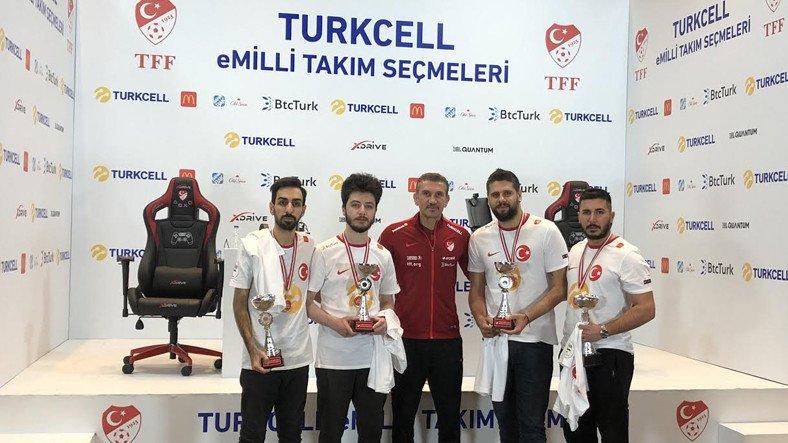 Turkcell eMilli Takım PES21 Seçmeleri Tamamlandı