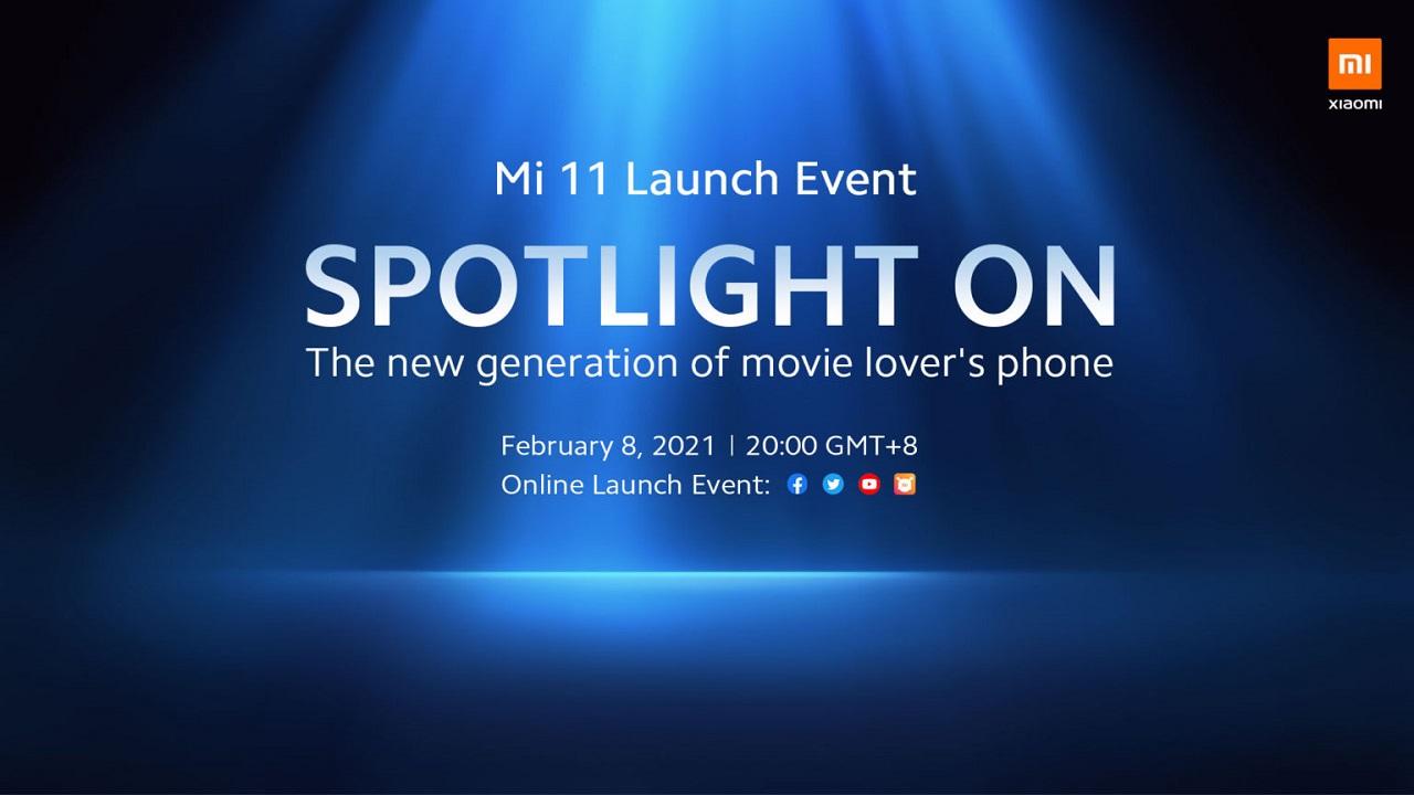 Xiaomi :Mi 11