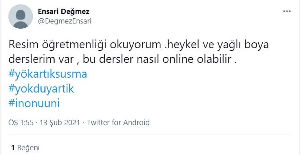 #yökartıksusma Twitter