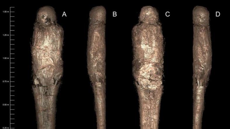 Antik Mısır'a Ait Daha Önce Hiç Görülmemiş Bir Mumyalama Çeşidi Keşfedildi