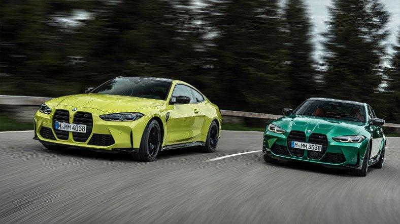 BMW, Yeni Nesil M3 ve M4'lerin Muazzam Aerodinamiğini Gözler Önüne Serdi [Video]