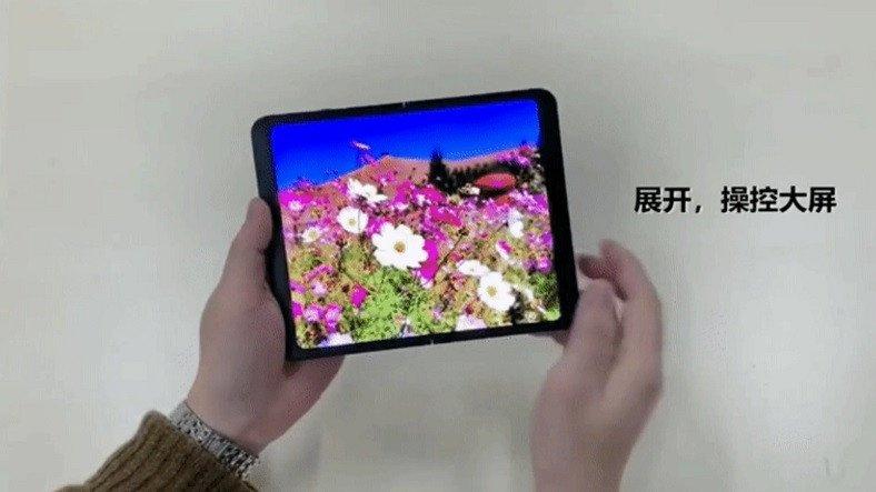 BOE'den Hem İçe Hem Dışa Katlanabilen Ekran Teknolojisi: BOE 360 [Video]
