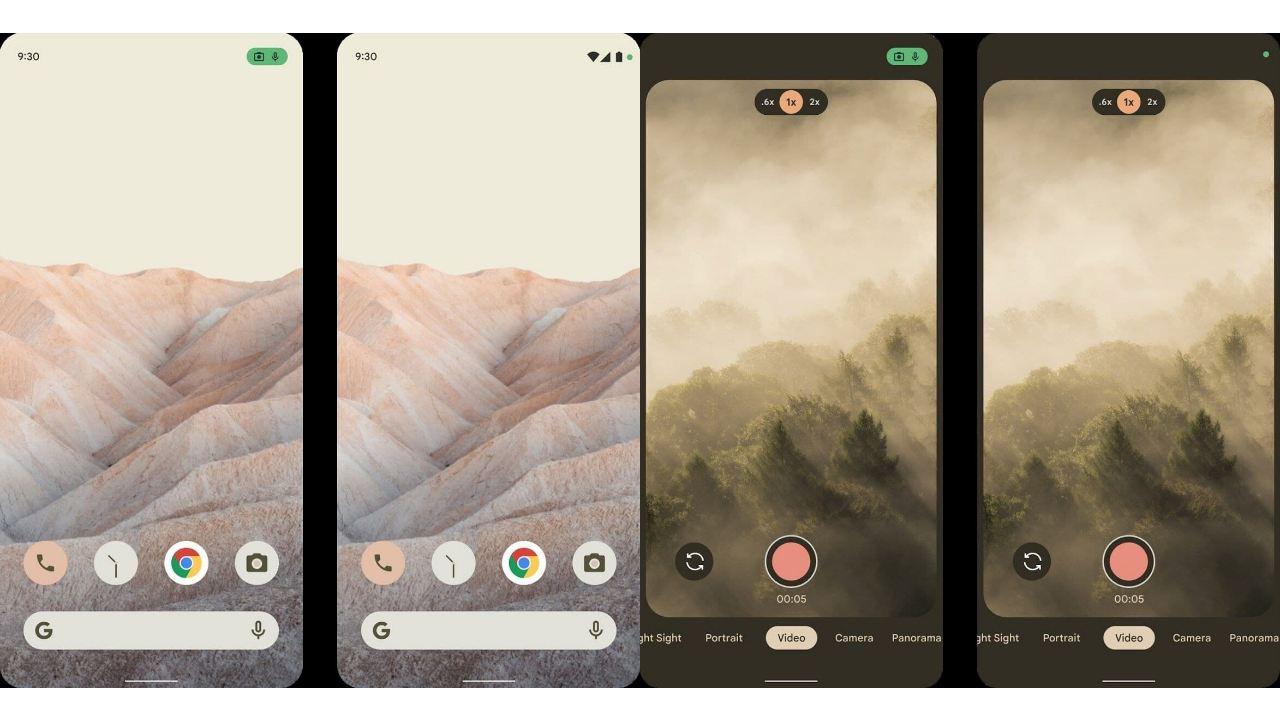 Android 12 gizlilik