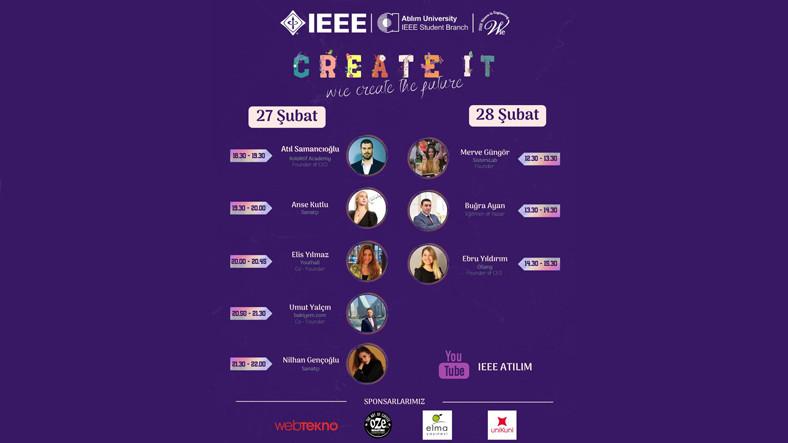 Create IT Etkinliği 27 Şubat'ta Başlıyor