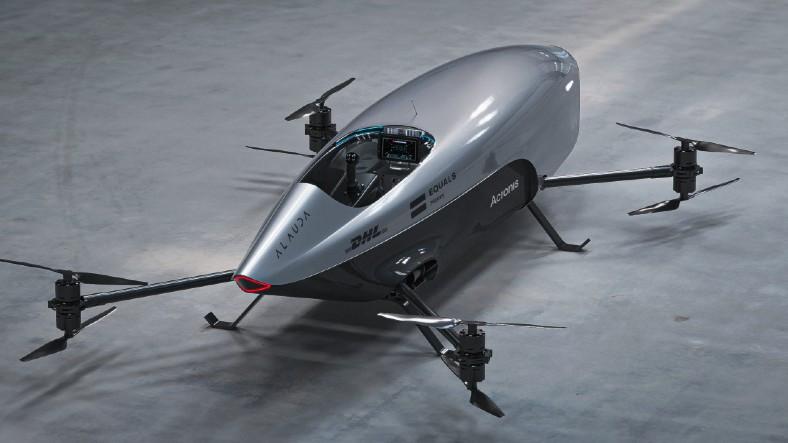 Dünyanın İlk İnsansız Uçan Elektrikli Yarış Otomobili Airspeeder Mk3 Tanıtıldı