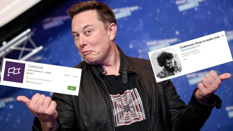 """Elon Musk'ın """"Clubhouse"""" Yayınından Sonra Android Kullanıcıları Yanlış Uygulamaya Hücum Ettiler"""