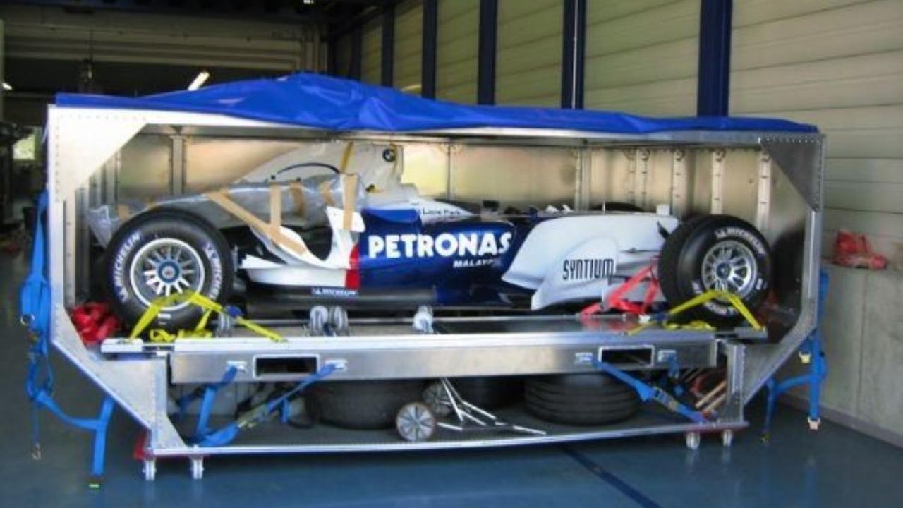 f1 araç konteynırı
