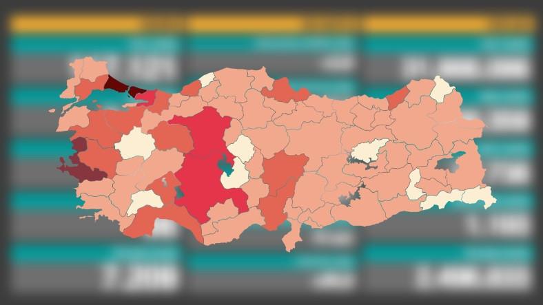 Fahrettin Koca, Vaka Sayısının En Çok Arttığı ve Azaldığı 5 Şehri Açıkladı