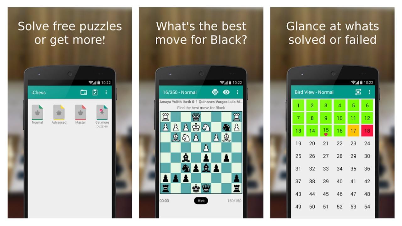 iChess - Chess Puzzles/Tactics