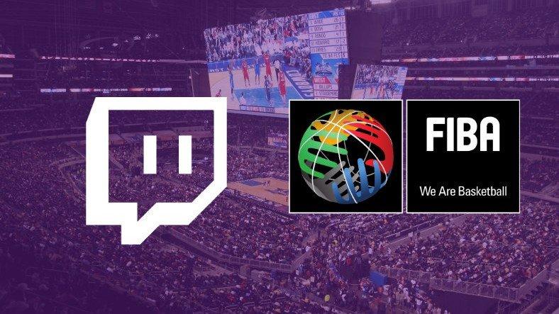 FIBA Duyurdu: Basketbol Maçları Twitch'ten Canlı Yayınlanacak