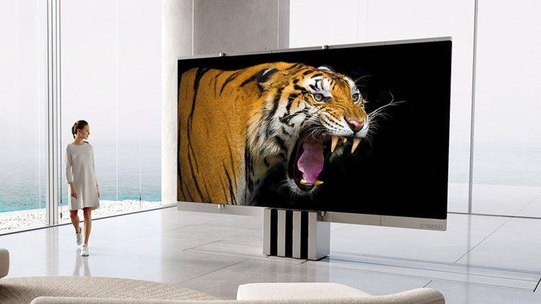 Fiyatıyla Dudak Uçuklatan 165 İnçlik Katlanabilir Dev Televizyon Satışa Çıktı