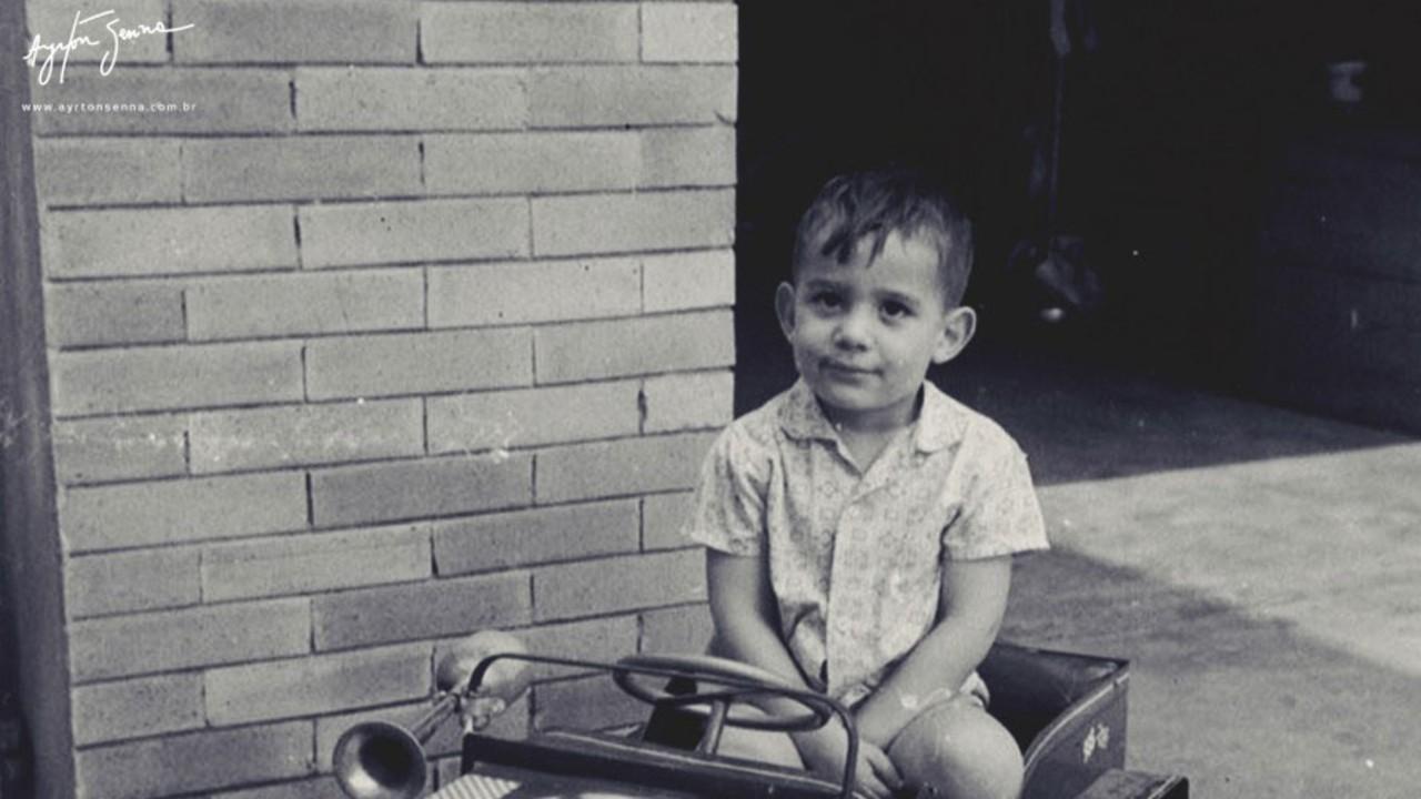 Ayrton Senna çocukluğu
