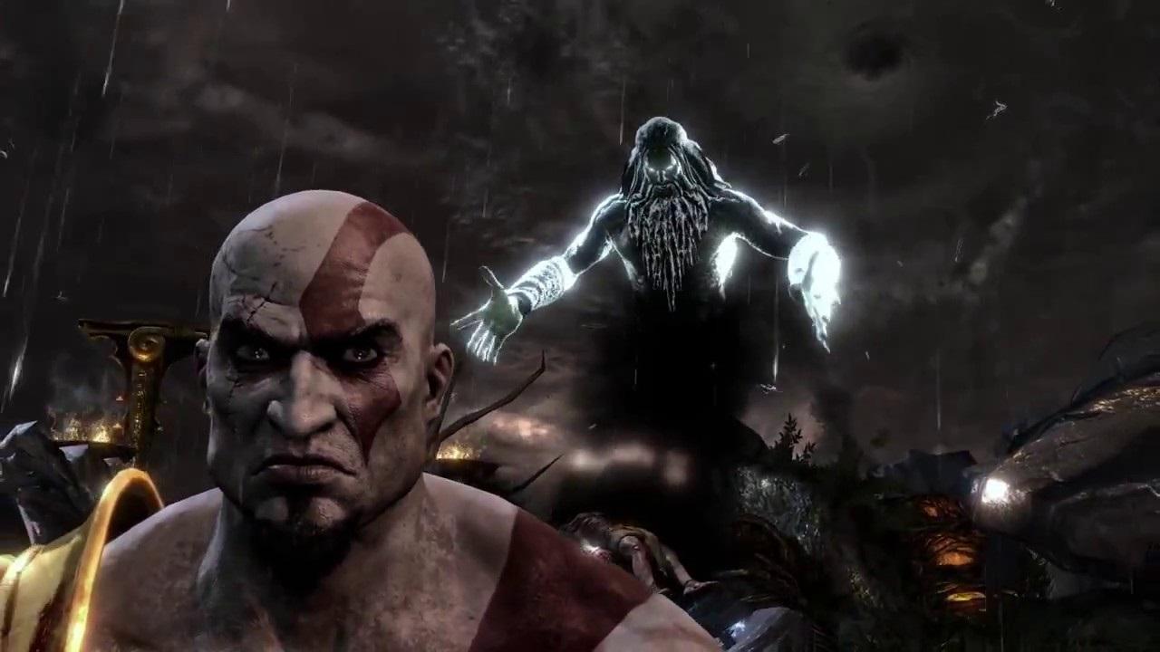 Zeus ve Kratos God of War
