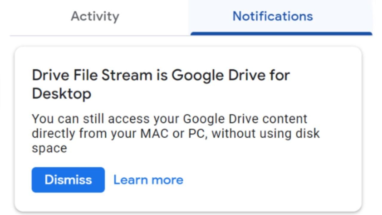 Masaüstü İçin Google Drive