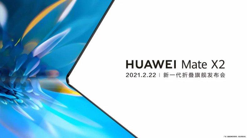 Huawei, Sağlamlığıyla Dikkat Çeken Yeni Katlanabilir Telefonu Mate X2'yi Bu Ay Tanıtacak
