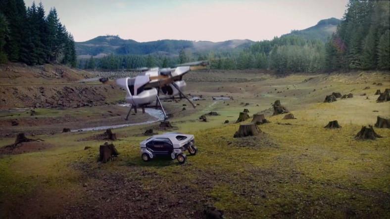 Hyundai, Yürüyebilen İnsansız Robot Araba Konsepti TIGER'ı Duyurdu [Video]