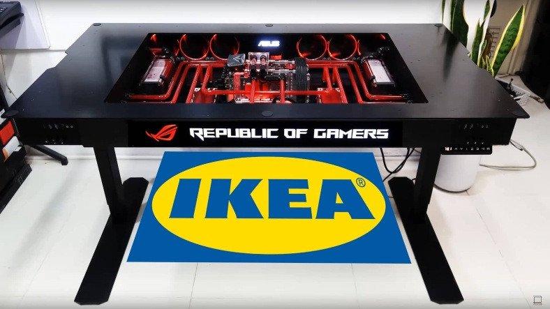 IKEA, ASUS ile Geliştirdiği Yeni Oyuncu Mobilyalarını Çin'de Satışa Sürdü