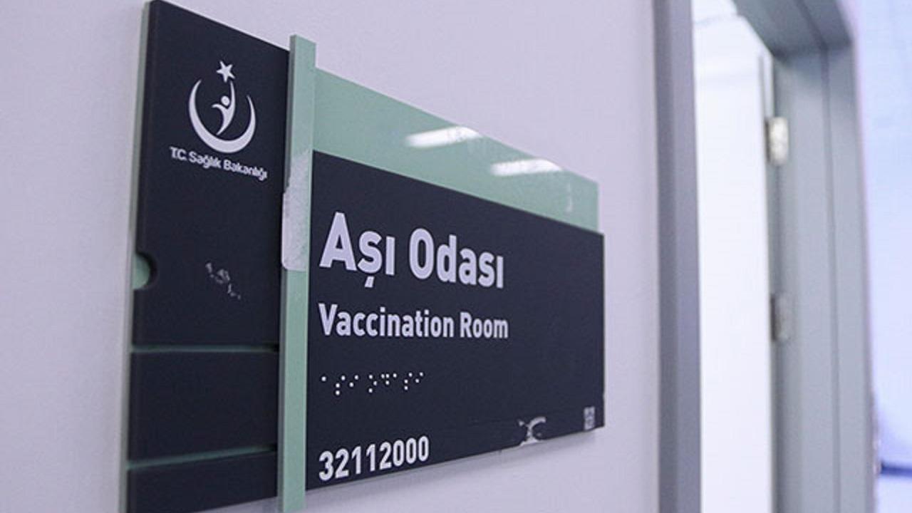 Koronavirüs aşı odası