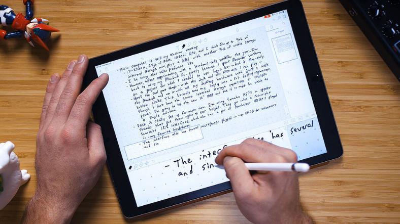 iPad ve Apple Pencil ile Kağıt Kalem İhtiyacını Ortadan Kaldıran 6 Not Uygulaması