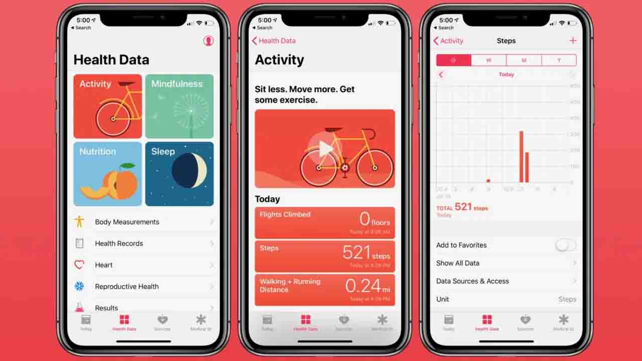 Apple Sağlık uygulaması