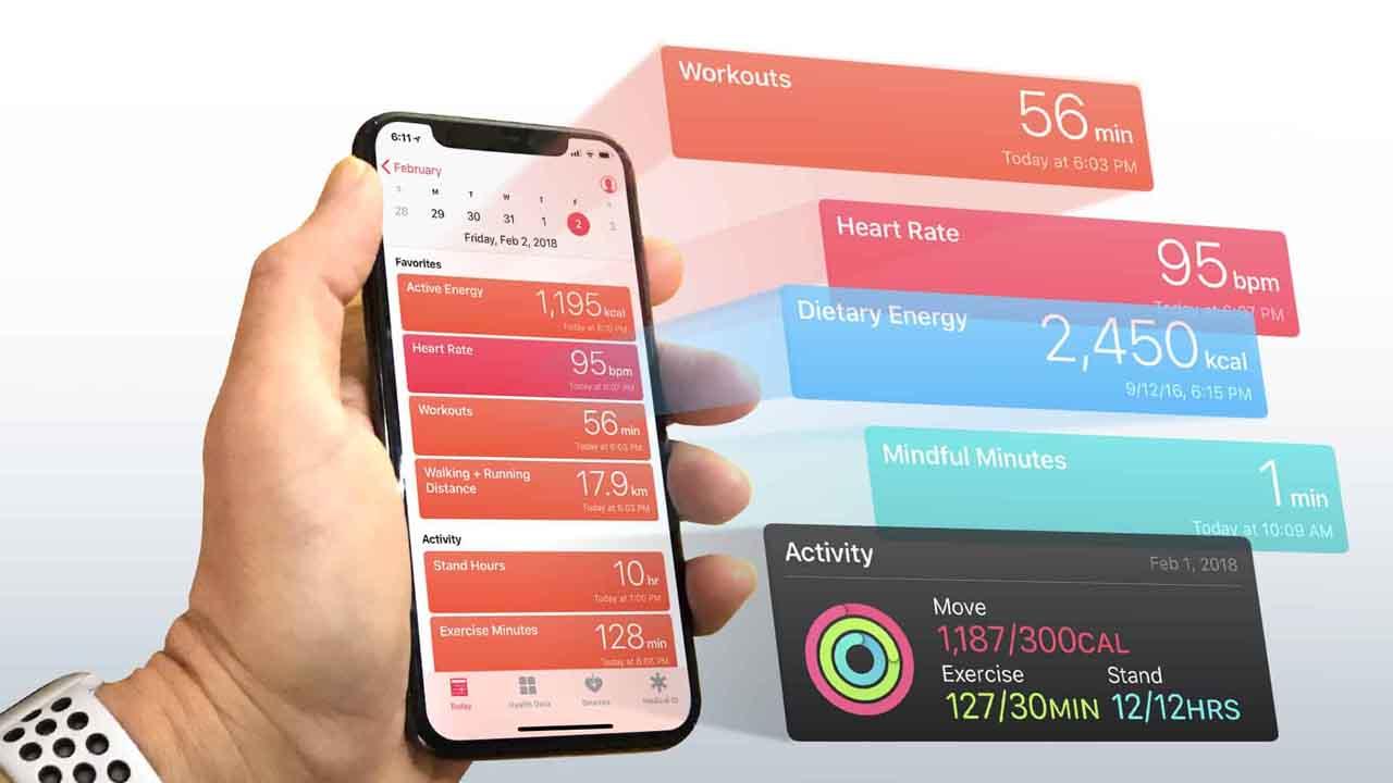 iPhone Sağlık Uygulaması