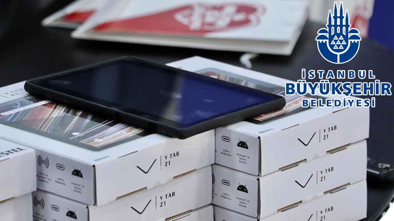 İBB Tablet projesi