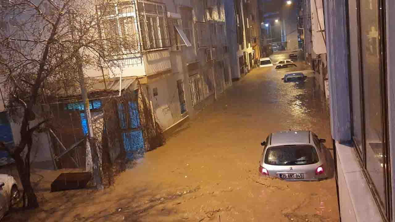 İzmir yağış