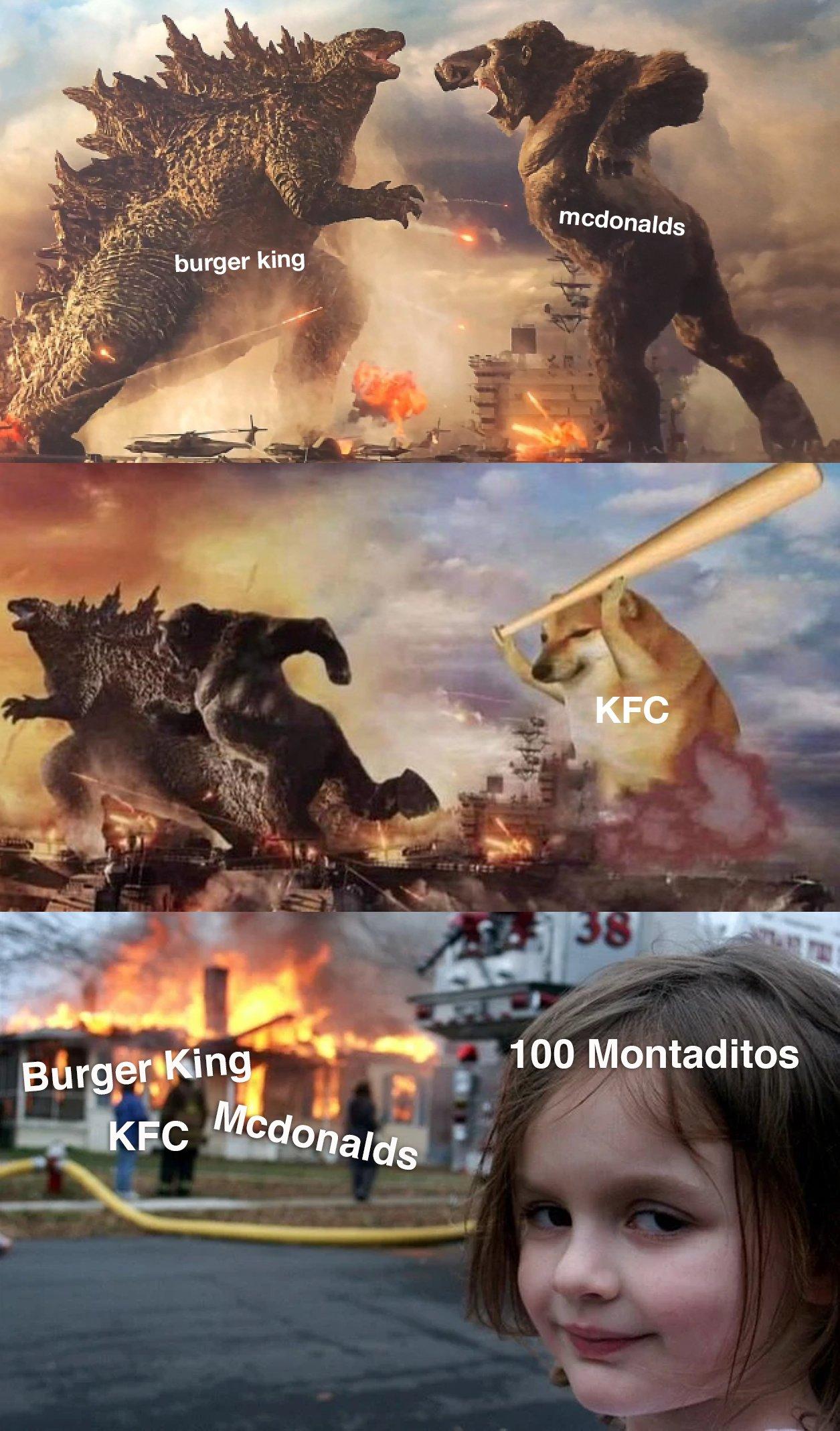 KFC Burger King kapışması