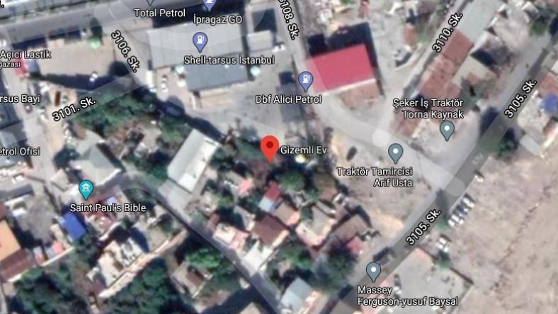 Mersin'deki Gizemli Ev'in Google Haritalar'a Eklenmesi, Yerel Halkı Memnun Etti