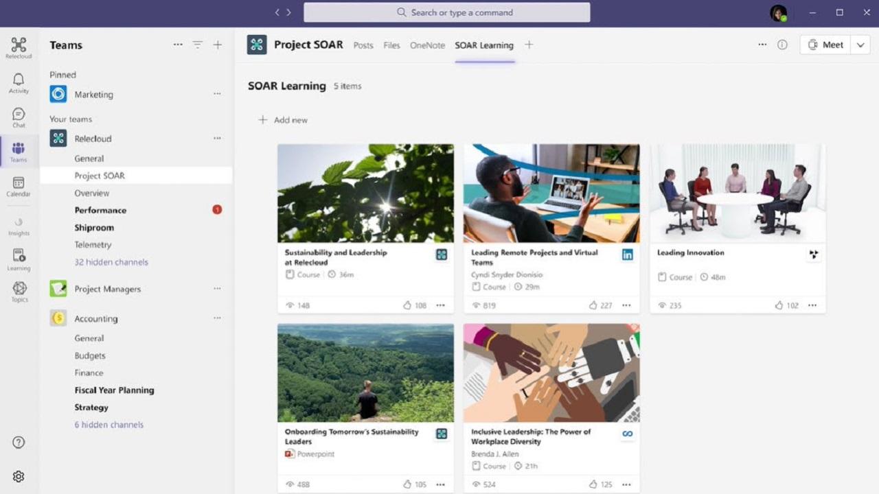 Microsoft Viva Learnings