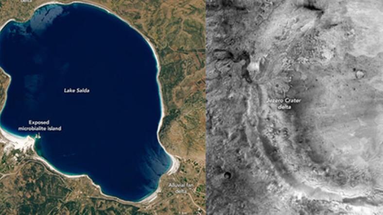 NASA'nın 'Salda Gölü' Paylaşımının Ardından Türk Profesörden Heyecan Verici Açıklama