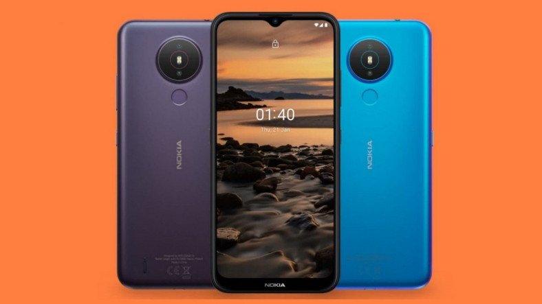 Nokia 1.4, Android Go İşletim Sistemi ve Bütçe Dostu Fiyatıyla Duyuruldu