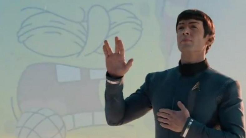 """Paramount'tan """"Sünger Bob"""" ve """"Mr. Spock""""lı İlginç Super Bowl Reklamı"""