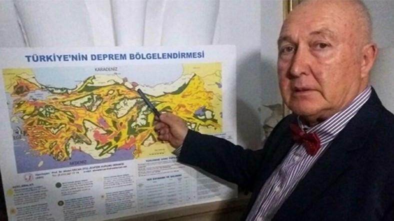 Prof. Dr. Ahmet Ercan: Türkiye'de Önümüzdeki 3 Yıl Deprem Yılı Olacak