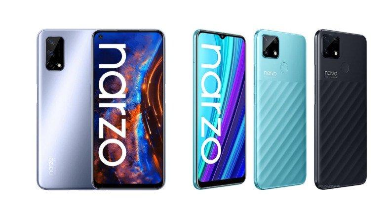 Realme Narzo 30A ve Narzo 30 Pro 5G Bütçe Dostu Fiyatlarıyla Duyuruldu