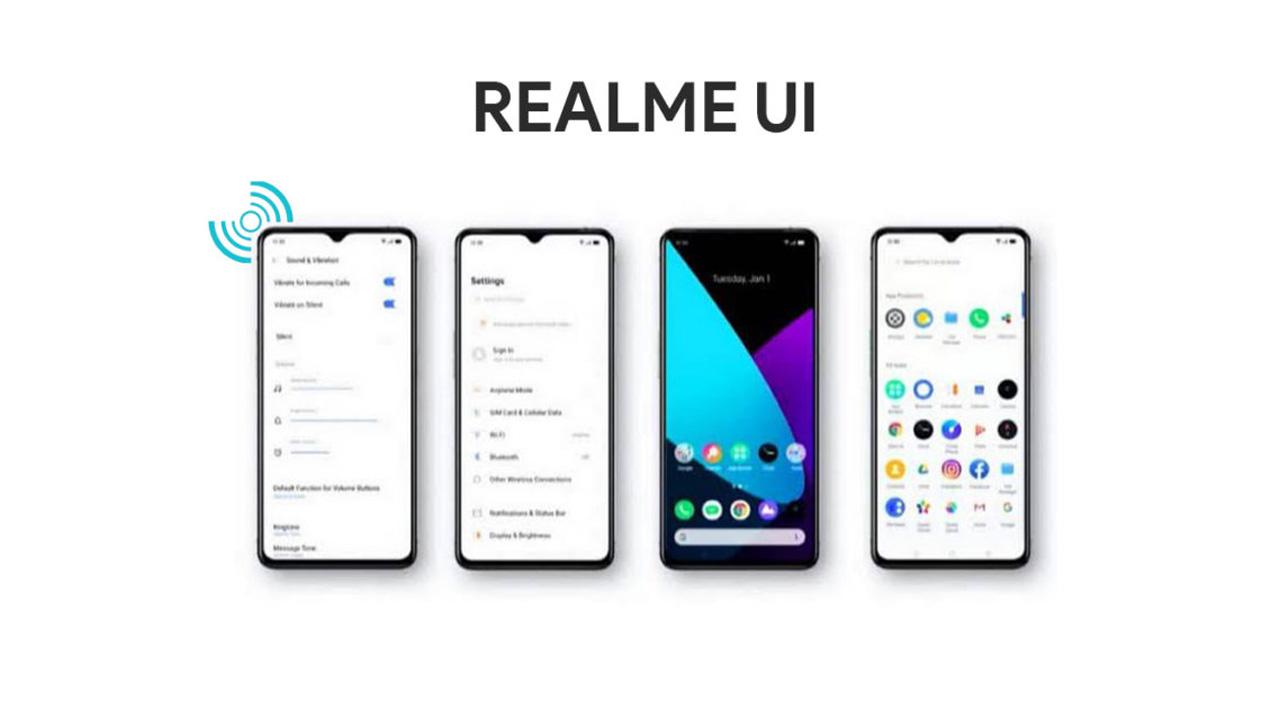 realme ui, realme kullanıcı arayüzü