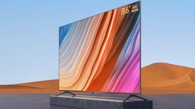Redmi, 4K Çözünürlük Sunan Akıllı Televizyonu MAX 86'yı Duyurdu