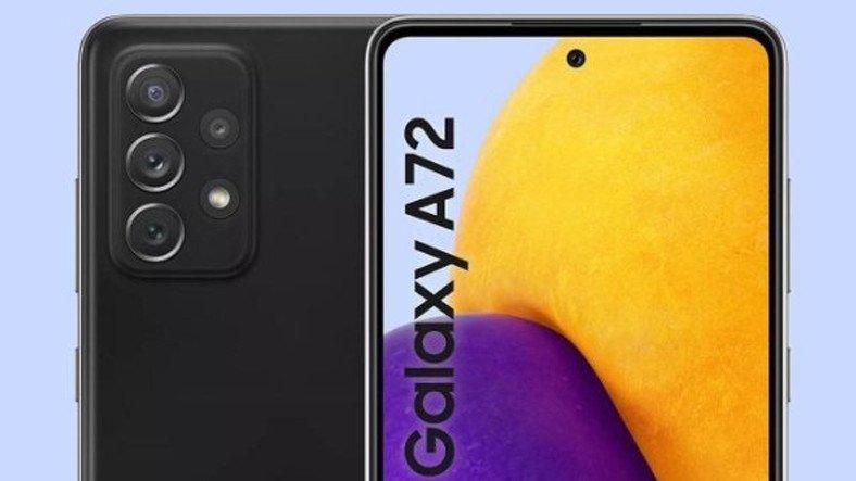 Samsung Galaxy A72'nin Özellikleri Ortaya Çıktı