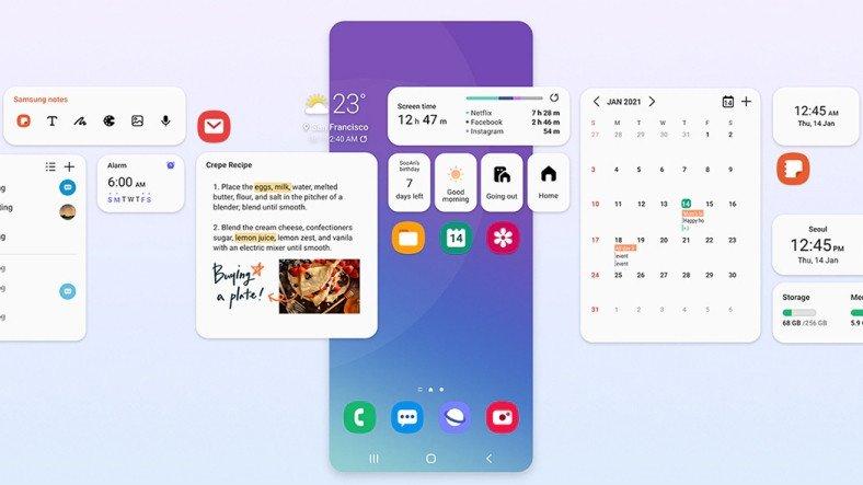 Samsung, Galaxy S20, Note 20 ve Galaxy Z Modelleri İçin One UI 3.1 Yayınladı