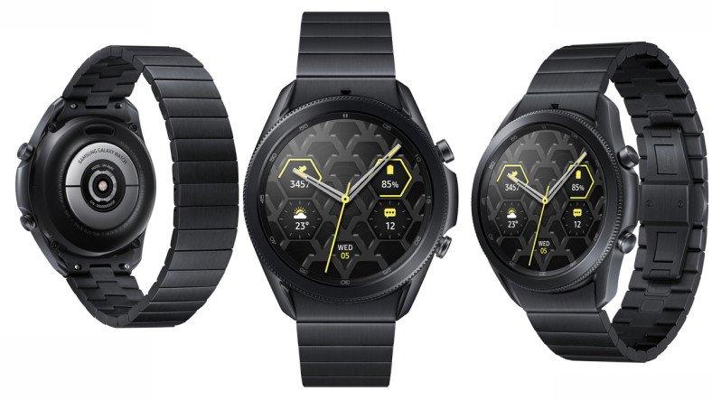 Samsung Galaxy Watch 3'ün Titanyum Versiyonu Türkiye'de Satışa Sunuldu: İşte Fiyatı ve Özellikleri