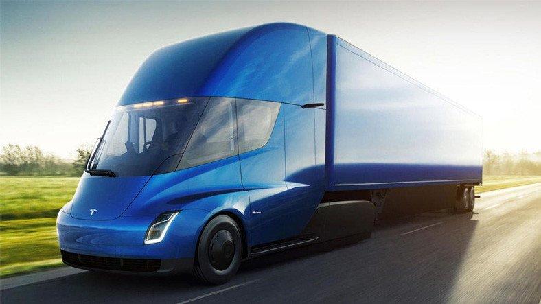 Tesla'nın Bu Yıl Üretmeye Başlayacağı Elektrikli Tır 'Semi'nin Dikkat Çeken Özellikleri ve Fiyatı