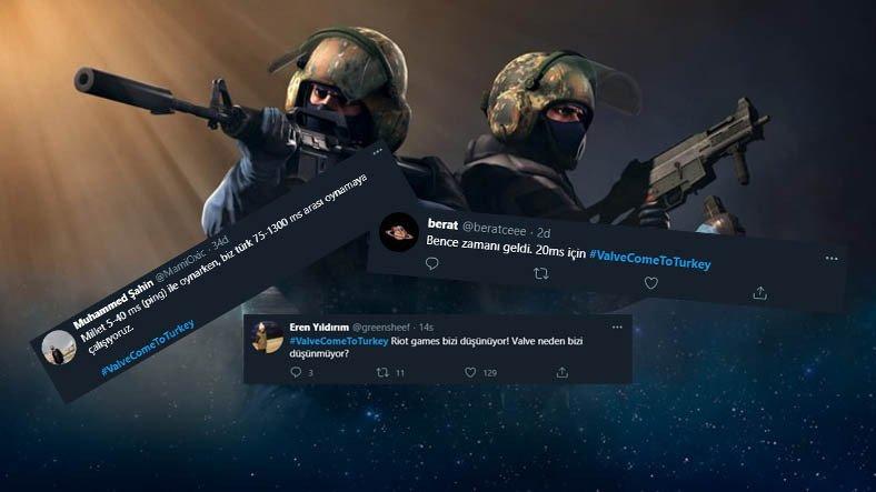 Türk CS:GO Oyuncularından Valve'a Çağrı: Türkiye'ye Sunucu Kurun