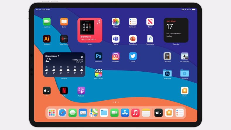 Türk Tasarımcı Kamer Kaan Avdan'dan Oldukça Başarılı Görünen iPadOS 15 Konsepti [Video]