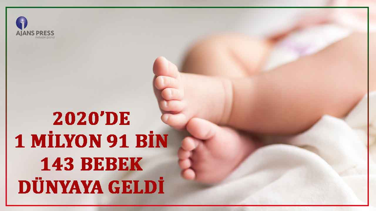Türkiye'de doğan bebek sayısı